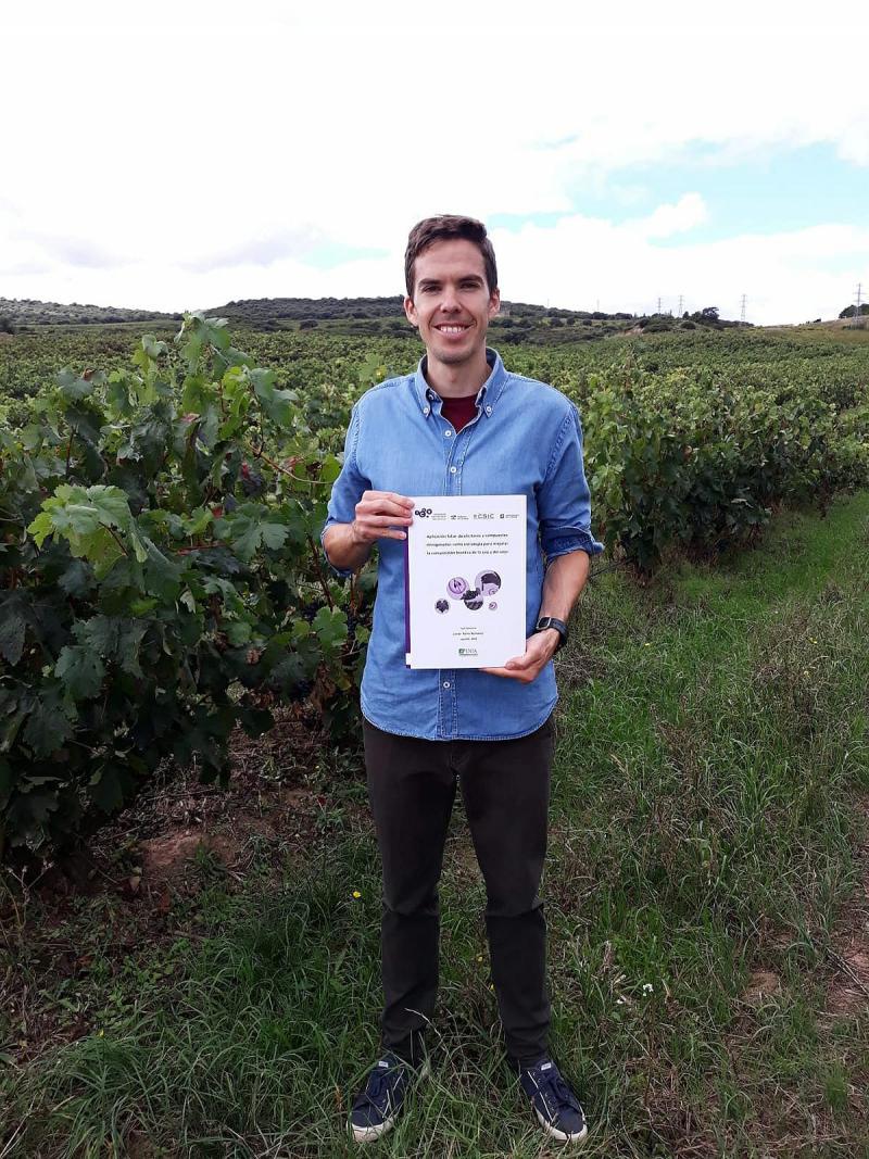 Javier Portu obtiene el grado de doctor por la Universidad de La Rioja