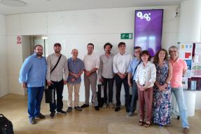 Visita de una delegación de investigadores de la Universidad de Los Andes (Colombia)
