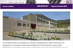 Boletín nº1 del ICVV: La ciencia y el vino. Investigación de vanguardia.