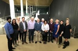 Embajador y delegación de parlamentarios de Nueva Zelanda en el ICVV